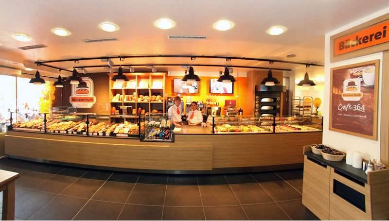 Cafe 364 im Bahnhof Limburg