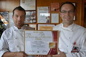 """""""Preis der Besten"""" in Gold für die Bäckerei Huth"""