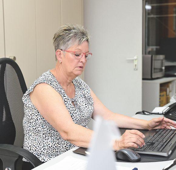 Im Büro mit Anja Skovran-Schmitt