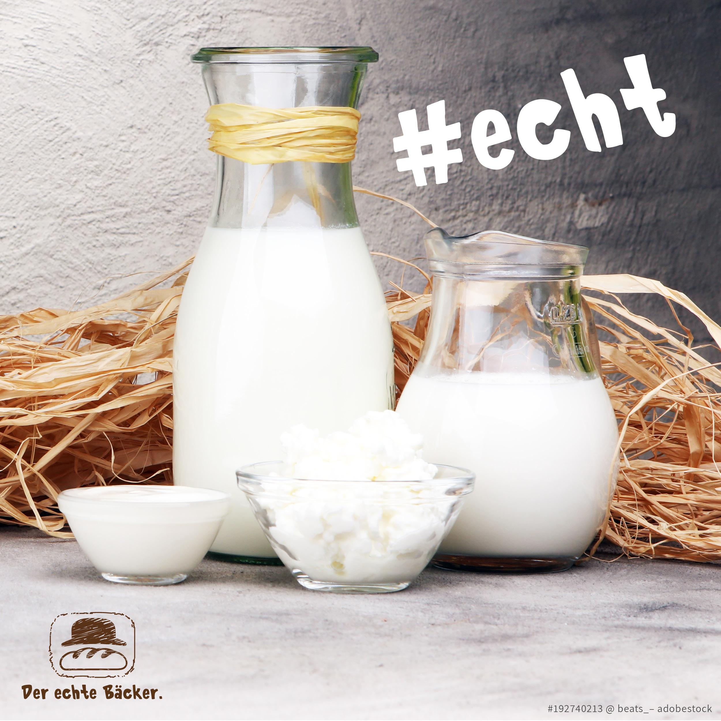 Wir beziehen Milch aus der Region.