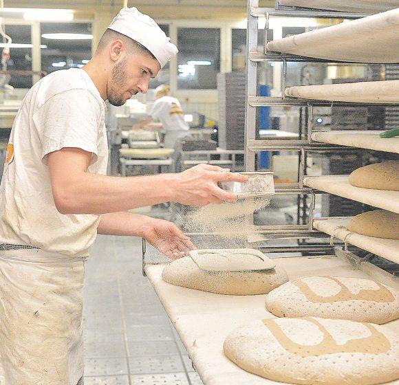 Bäcker Emrih Repaj ist ein Beispiel für gelungene Integration