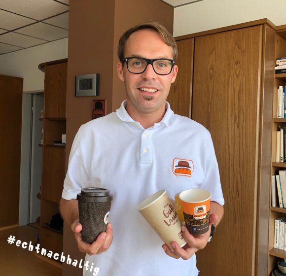 Unsere nachhaltigen Kaffeebecher