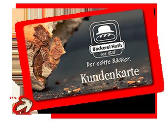 Bäckerei Huth Kundenkarte