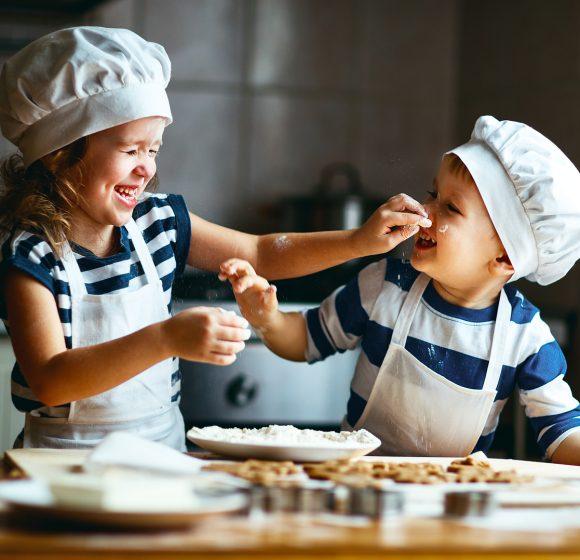 Großes Kinder-Plätzchenbacken beim echten Bäcker!