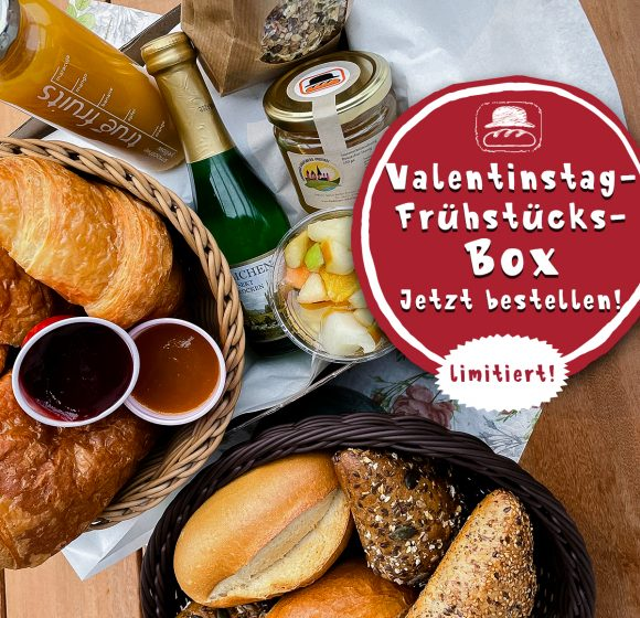 Valentinstagsfrühstück To-Go!